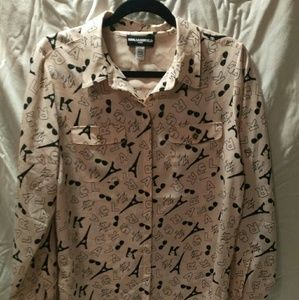 Karl lagerfeld button down